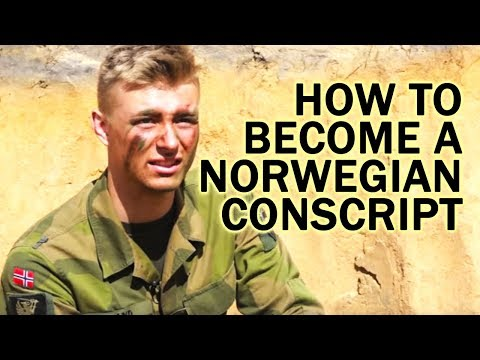 How to become a Norwegian conscript