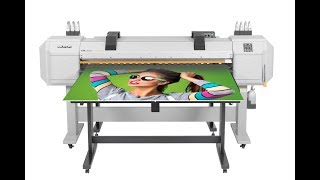 Mutoh ValueJet 1627MH - Affordable Rigid and Roll Printer