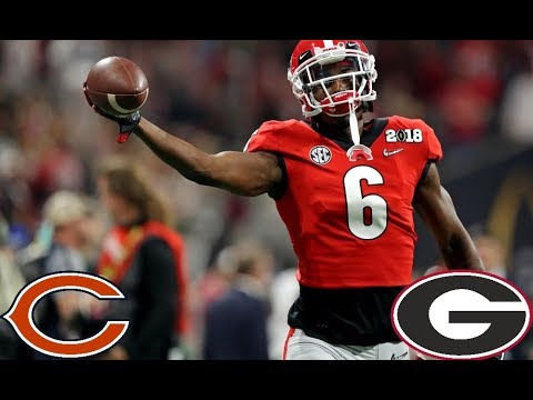 e542ec9c42d II Javon Wims 2017 Highlights II Chicago Bears 7th Round Selection ...