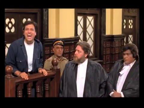 Govinda  - Funny Scene in court