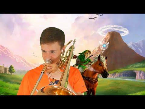 Gerudo Valley (Legend of Zelda: Ocarina of Time)   Trombone Loop Cover