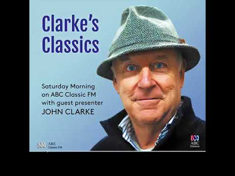 John Clarke introduces Beethoven's Moonlight Sonata