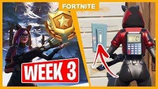 ALLE WEEK 3 CHALLENGES + GRATIS TIER!! - Fortnite
