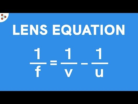 Lens Equation - CBSE 10