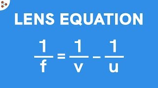 Lens Equation   Reflection and Refraction   Don't Memorise