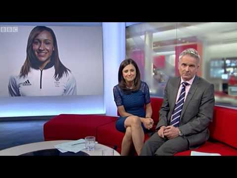 Jess Ennis-Hill launches new charity appeal on BBC Look North