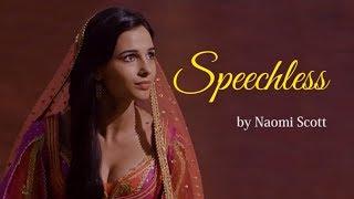 Speechless - Naomi Scott (lyrics)