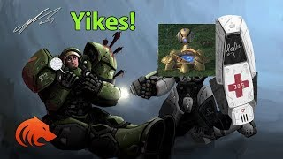 StarCraft 2: Getting Cannon Rushed..Again!