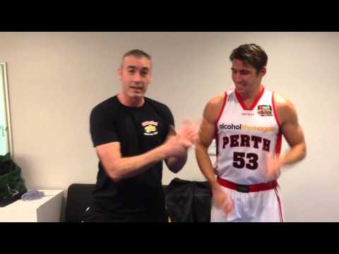 Perth Wildcats Wiggly Tips for Damian Martin!