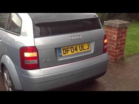 LED indicators Audi A2