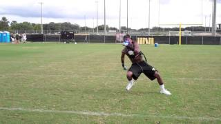 NCAA Football Portable Metabolic Testing (K4b2) on Defensive Back