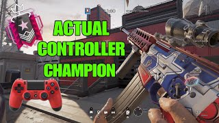 How a CONTROLLER CHAMPION looks like: Ps4 Champion - Rainbow Six Siege