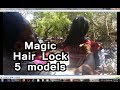 5 most easy and beautiful juda hairstyle using magic hair lock |  5 models MRG Classic