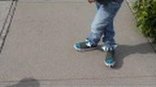 Boys Oshkosh Jeans, H&M Kids Dino Hi tops & Target Shirt OOTD