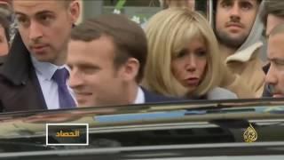 ماكرون ولوبان إلى الجولة الثانية من الانتخابات الفرنسية