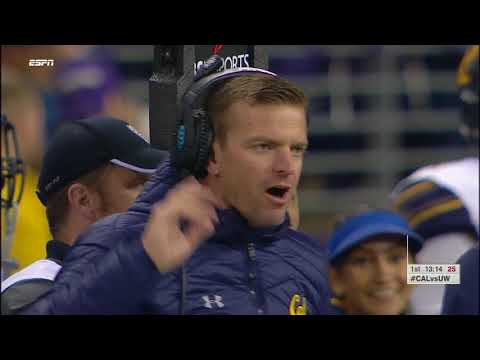 2017 California vs #6 Washington vs ESPN