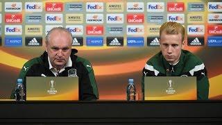 Пресс-конференция и тренировка «Краснодара» перед домашней игрой с «Сельтой»