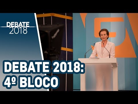 Debate 2018 | TV Gazeta - Governador de SP - 1º Turno (4º bloco)