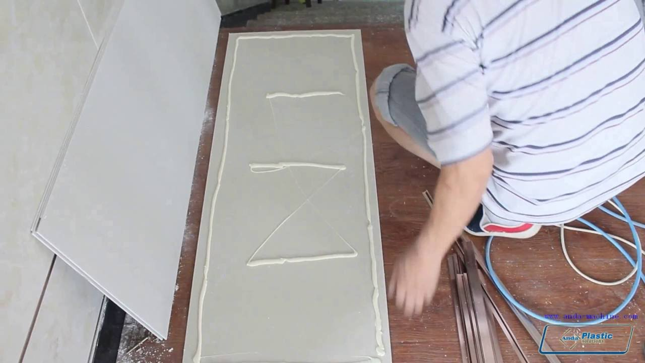 Pvc Marble Sheet Installation Youtube