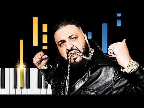 DJ Khaled - I'm The One Ft. Justin Bieber, Quavo, Chance The Rapper, Lil Wayne - Piano Tutorial