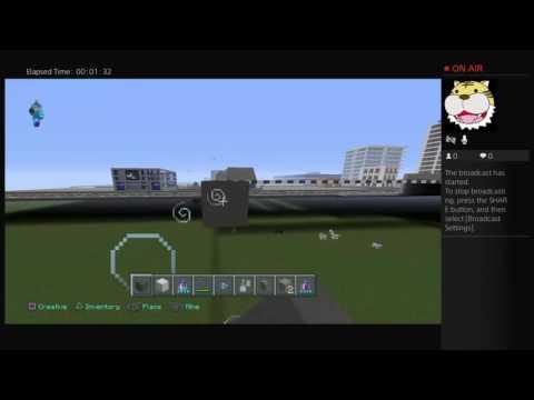 Minecraft city world freeway