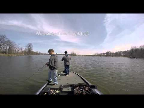 Gopro bass fishing with edgar vanhoose mosquito lake 4 for Mosquito lake fishing