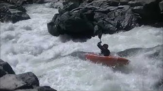 Kayaking Goodyears Bar on the North Fork of the Yuba river in California Level 1240 cfs