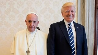 Did Trump and Pope Francis bury the hatchet?