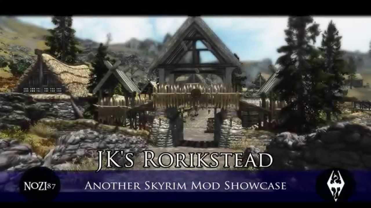 Skyrim rorikstead house models