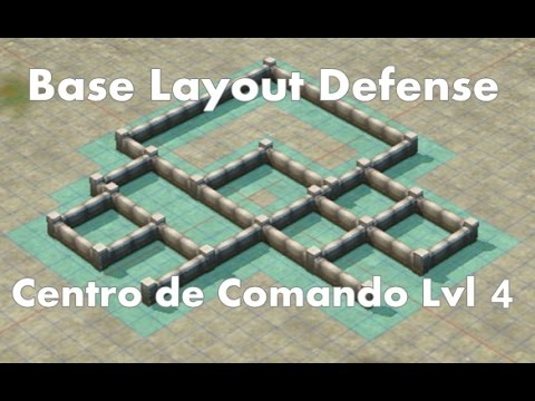 Call of Duty: Heroes - Command Center Level 4 - Base Layout ...