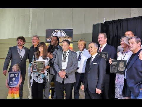 National Wrestling HOF Awards Ceremony 2018