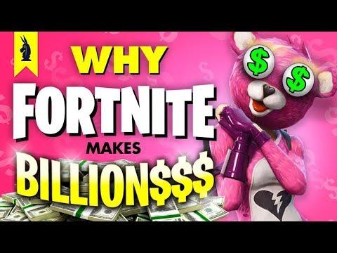 Why Fortnite Makes Billions – Wisecrack Edition