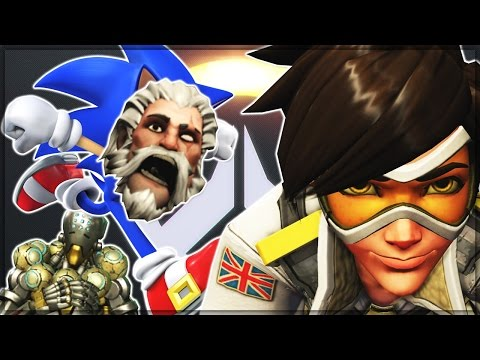 The MAXIMUM Speed Possible in Overwatch! (With Added Shenanigans)