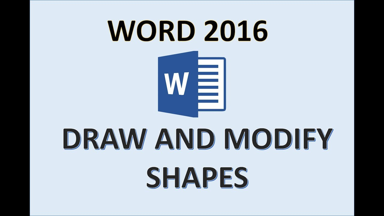 Word 2016 - Shapes Tutorial - How to Draw a Shape on Microsoft Office - Drawing and Text in MS 365