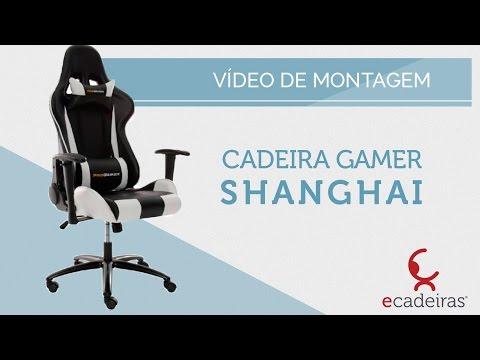 Cadeira Gamer Shanghai (Montagem) | Ecadeiras