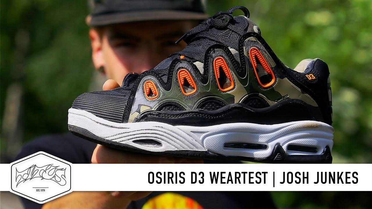 Osiris D3 2001 Black//Orange//Camo