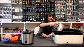 How to Make Cupcake Candles : Candle Making