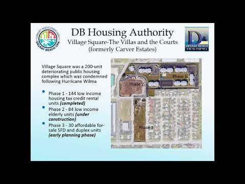 Delray Beach Housing Authority Redevelopment Story Pt. 2