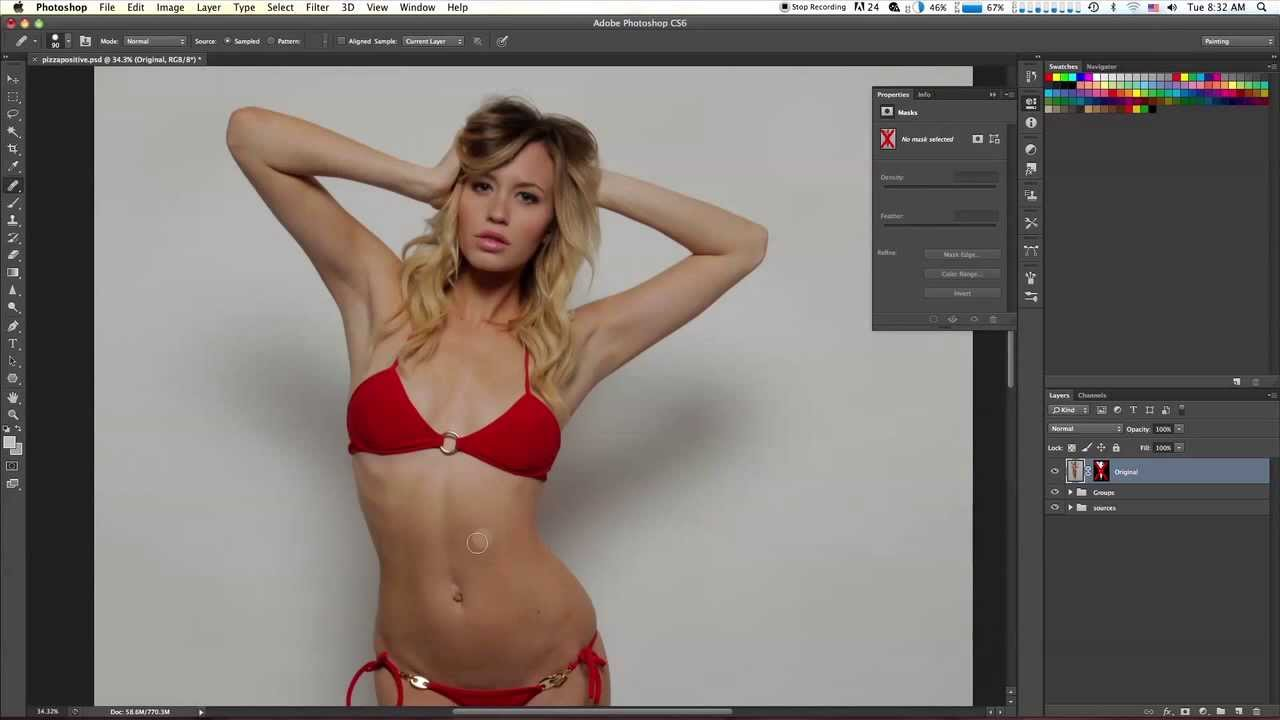 Photoshop Has Gone Too Far YouTube - This shocking video shows how photoshopped models are