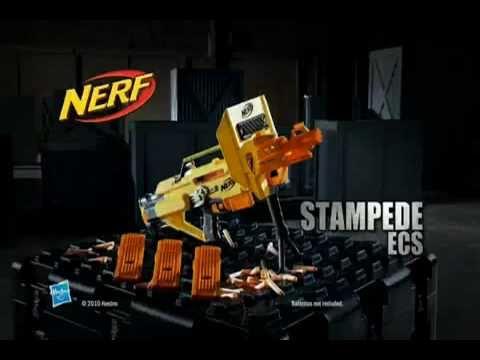 Nerf N Strike Stampede Ecs 60 Werbespot Youtube