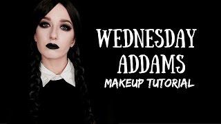 Modern/Glam Wednesday Addams Makeup Tutorial