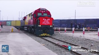 NW China's Urumqi sees 2,000 trips of China-Europe freight trains