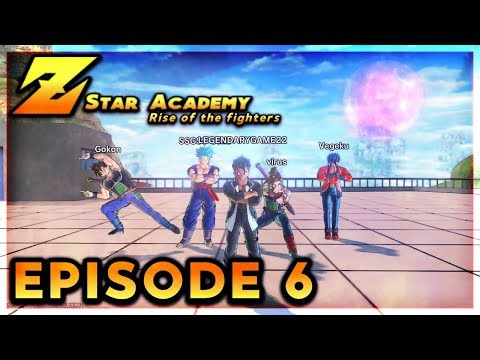 [DBXV2 ROLEPLAY] Z-star academy Rise of the fighters Episode 6-Mysterious Dark star Brother's