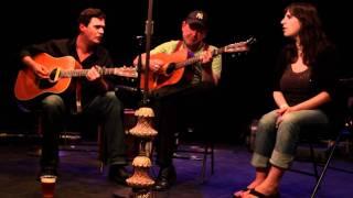 Matt Large performs at the Hootenanny