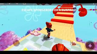 Escape the SpongeBob Obby/ Roblox