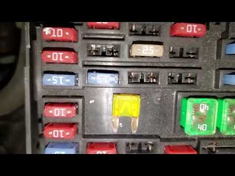 2007 Chevy Equinox Cigarette Lighter Fuse, Power Outlet Fuse Location -  YouTube   Chevrolet Equinox 2007 Fuse Box      YouTube