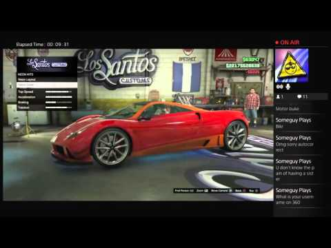 GTA5 customizing tons of super cars