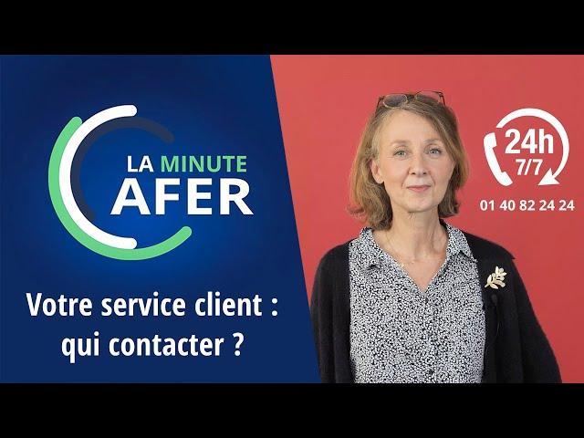 La Minute Afer - Service adhérents : qui contacter ?