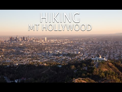 Hiking Mt Hollywood in Griffith Park
