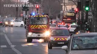convoi des Pompiers de Paris